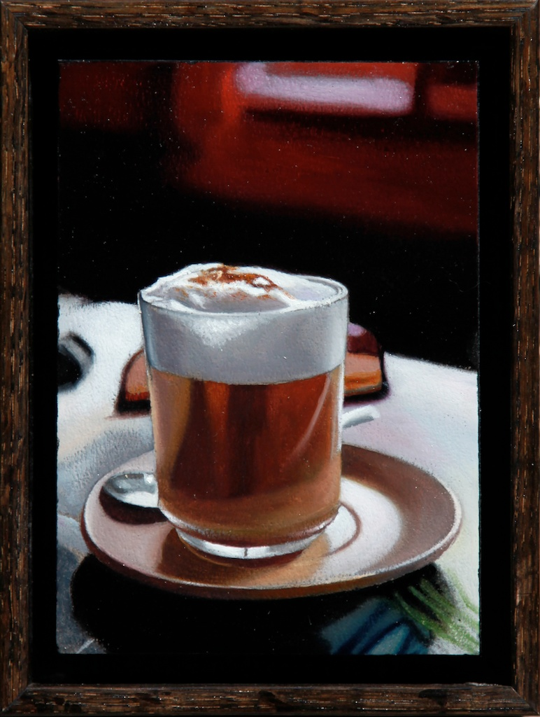 "Break 5 x 7"" oil on panel SOLD"