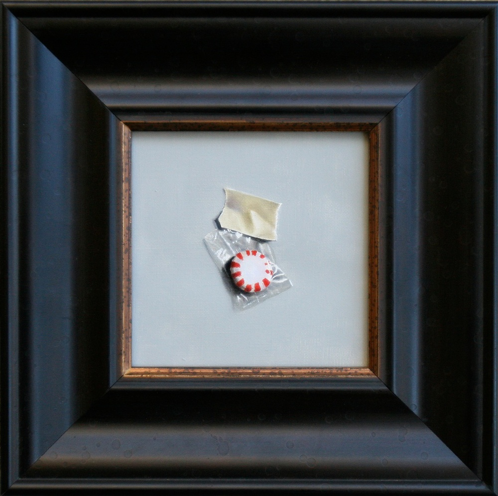 "Sweet 6"" x 6"" oil on linen SOLD"