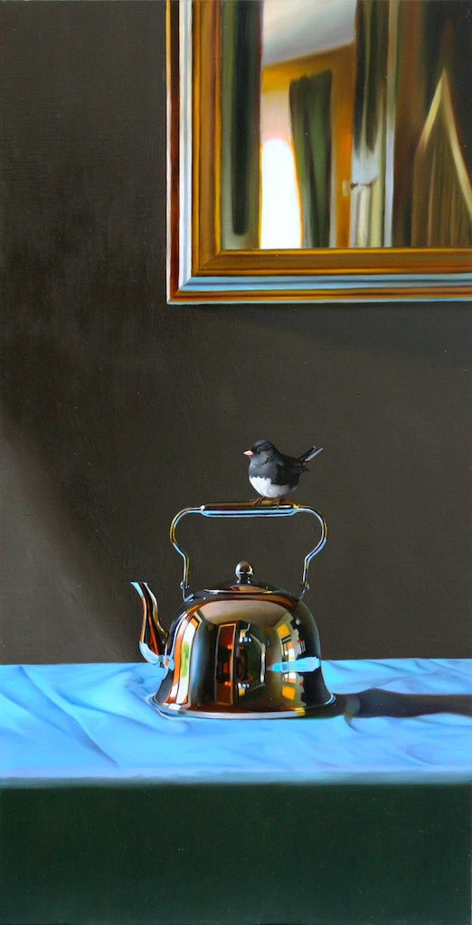 "Perch 18"" x 36"" oil on linen SOLD"