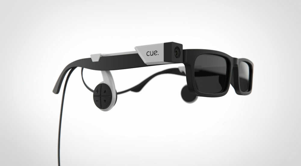 CUE Glasses Enabling the visually impaired to engage in non-verbal communication