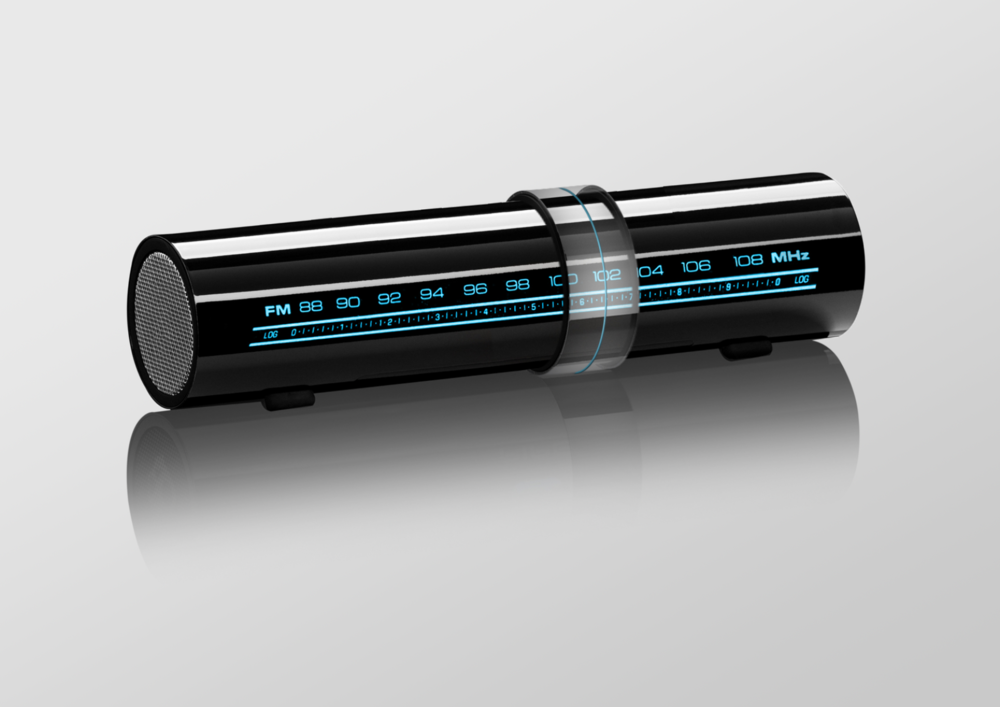 Buttonless Radio  Product concept