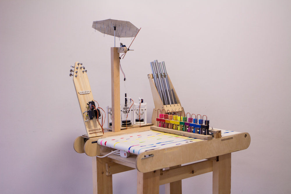 INKey Interactive electro-mechanical music machine