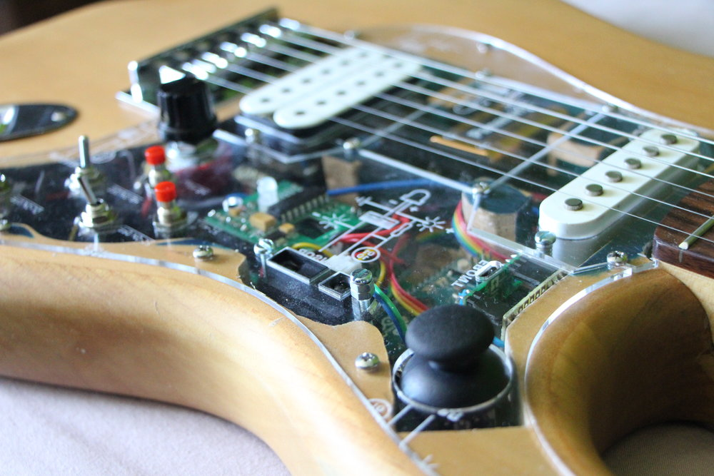 The Guitar Project Built-in effects and ways of controlling them