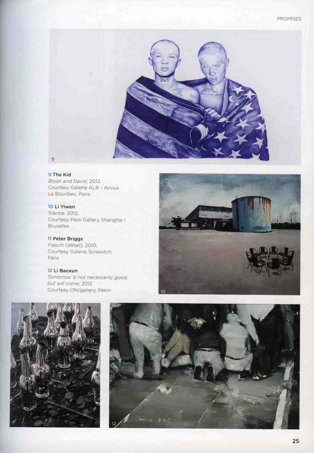 THE KID in ART PARIS 2014 Exhibition Catalogue Worldwide March 2014 page 25.jpg