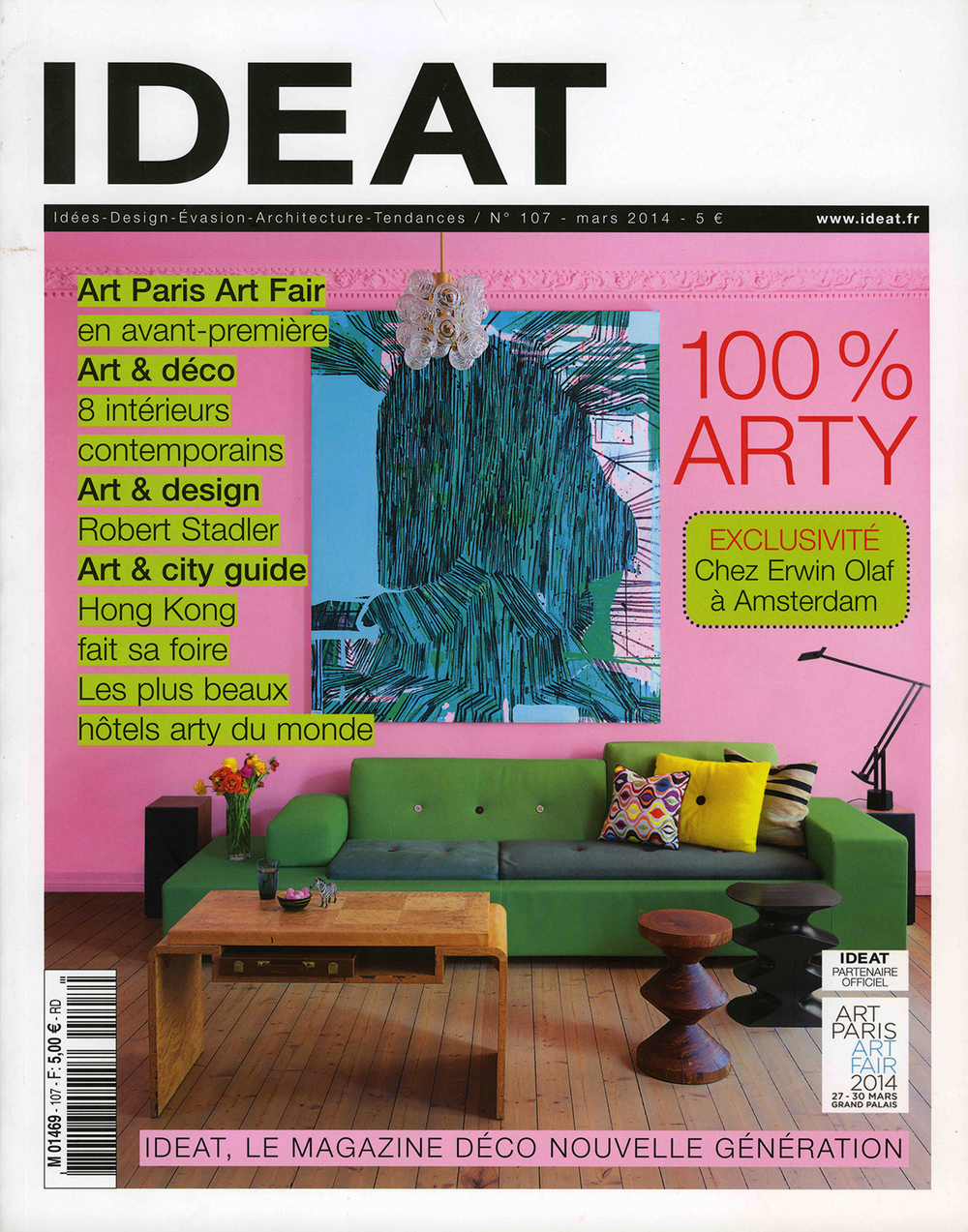 THE KID in IDEAT Magazine France March 2014 cover page.jpg