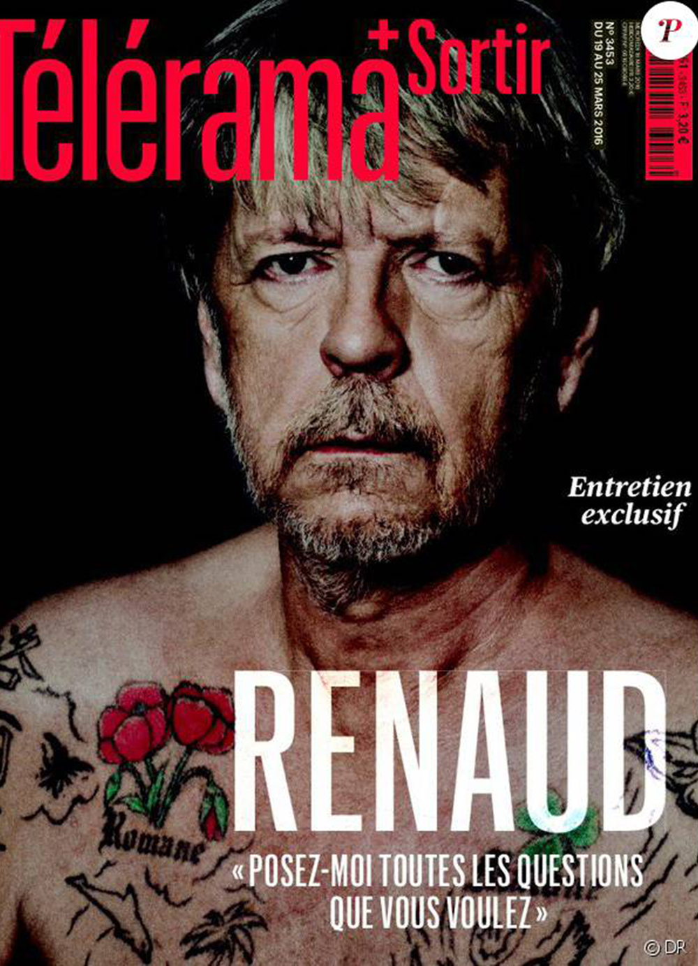 THE KID in TELERAMA French Leading Cultural Weekly Magazine March 2016.jpg