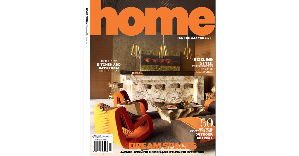 THE KID In HOME DESIGN Magazine Australia Print Issue May 2016 Cover Page  Web