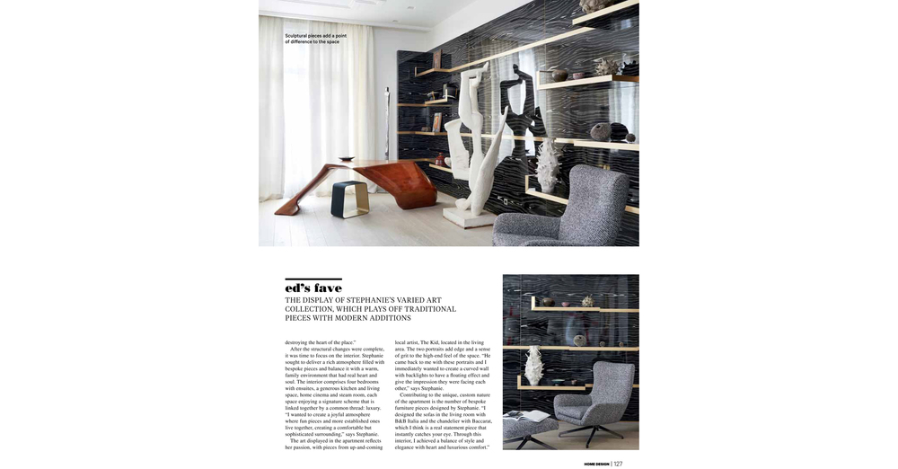THE KID In HOME DESIGN Magazine Australia Print Issue May 2016 Page 127  Web