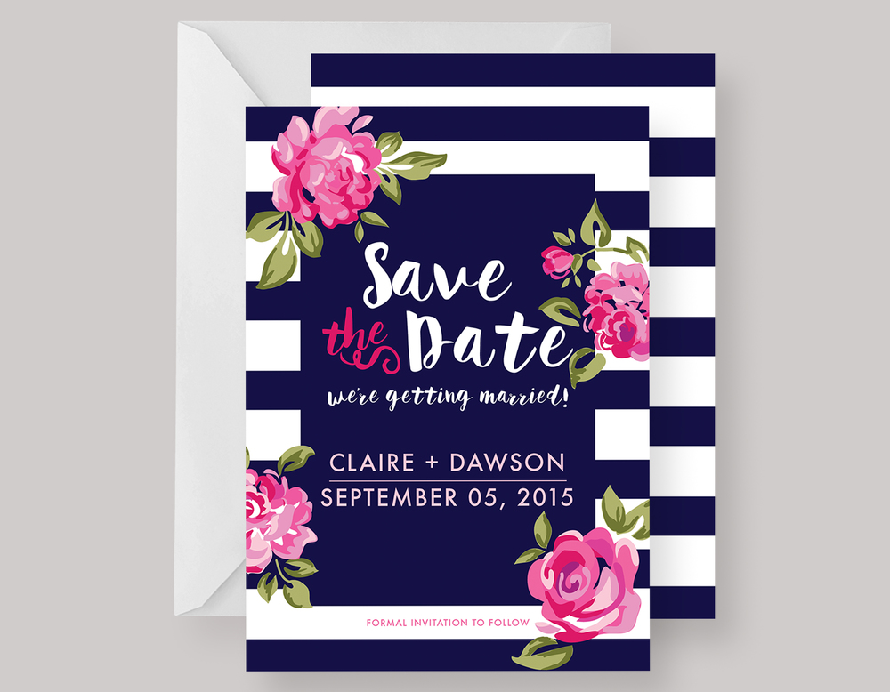 """SAVE THE DATE—""""Claire"""" $15.00+"""
