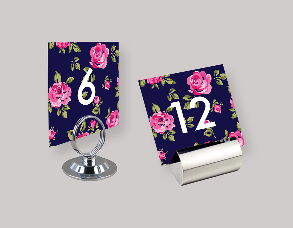 """WEDDING TABLE NUMBERS—""""Claire"""" $10.00+"""