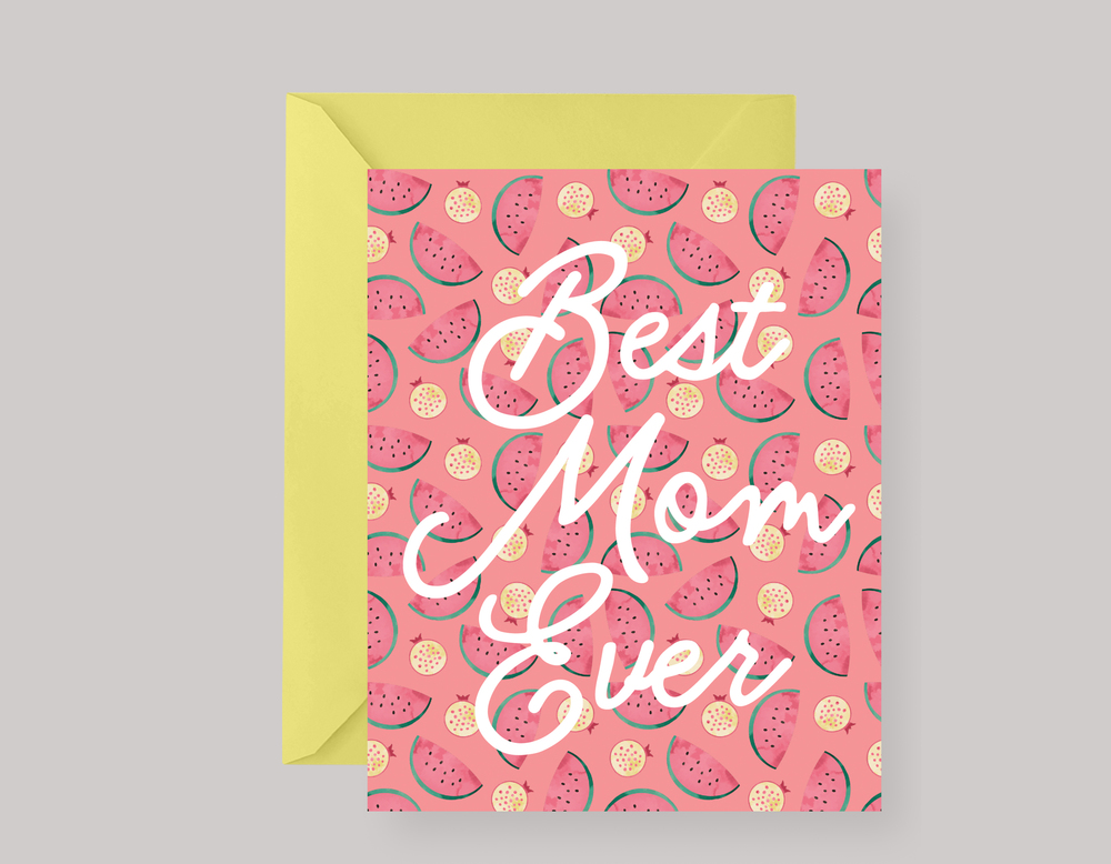 WATERMELON MOTHER'S DAY CARD $4.00+