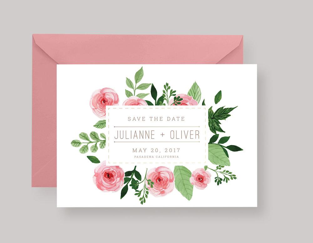 "SAVE THE DATE—""Julianne"" $15.00+"