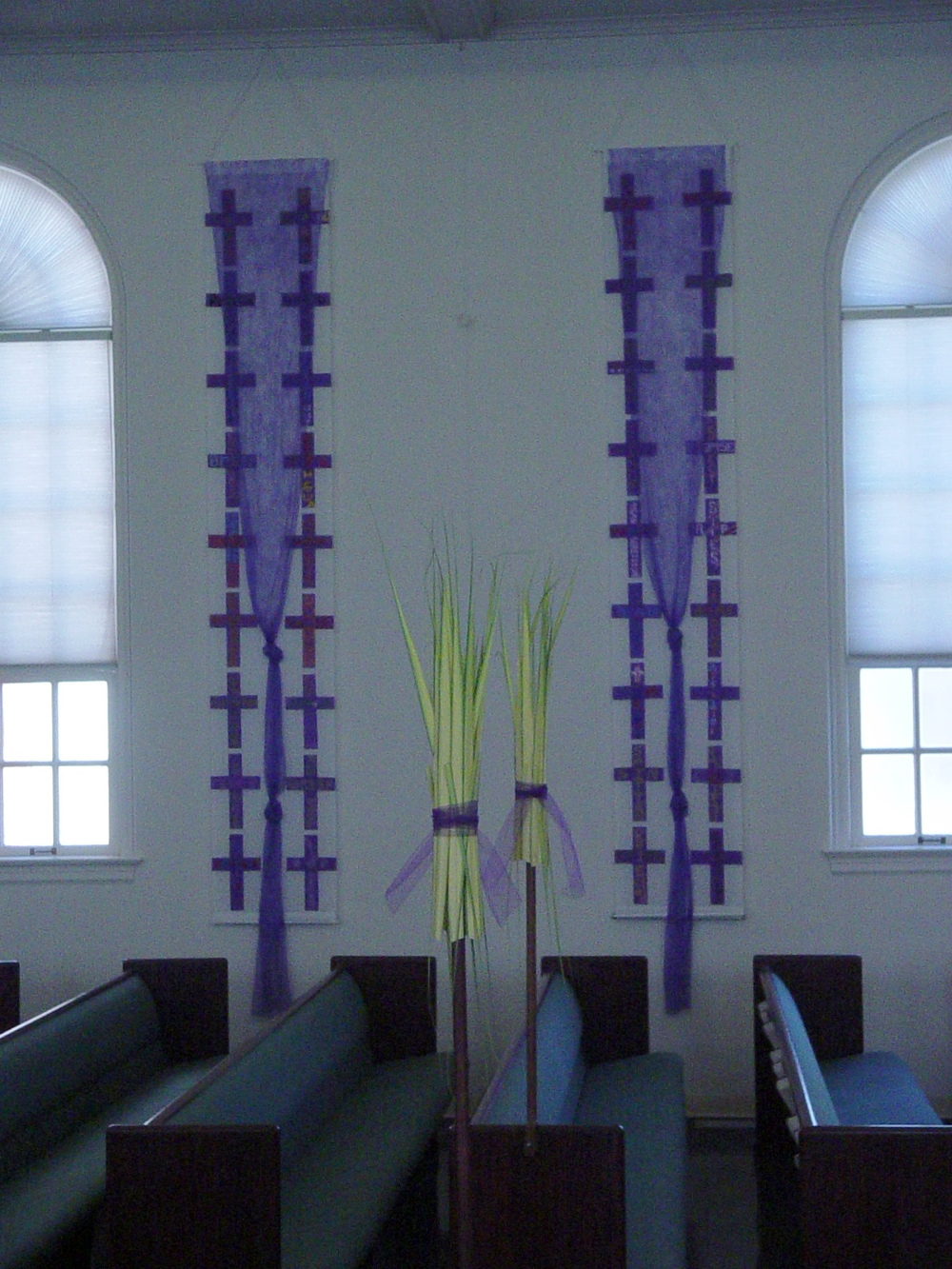 Nave Hangings (2 of 4), Palm Sunday