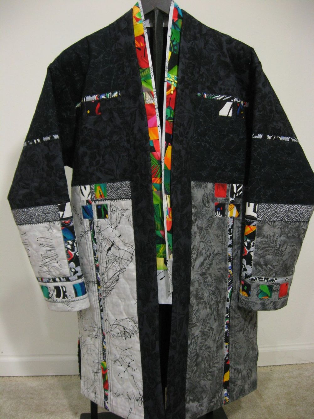 Coat for A Journey of Faith, Wearable Art