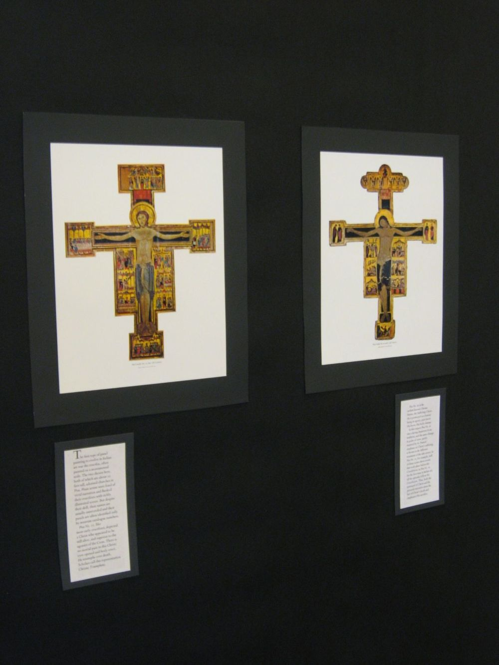 Close-up, Italian Crucifixes, reproductions