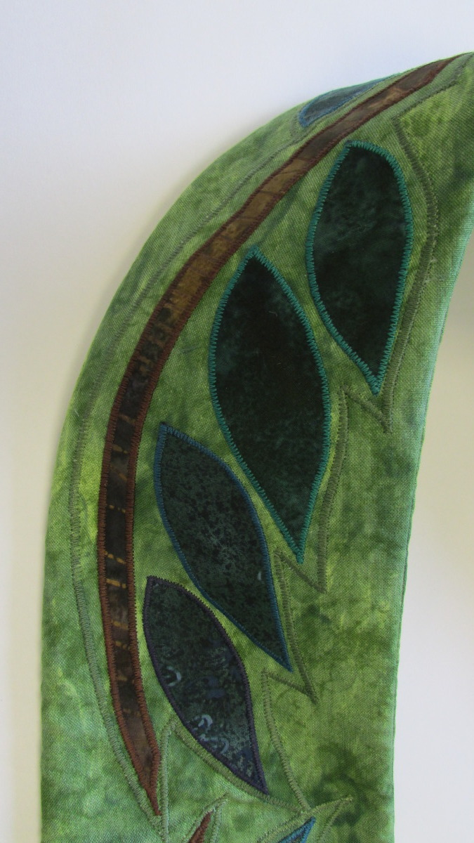 You are The Branches, detail, Green Stole