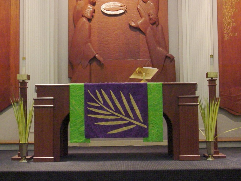 Palm Sunday Altar frontal