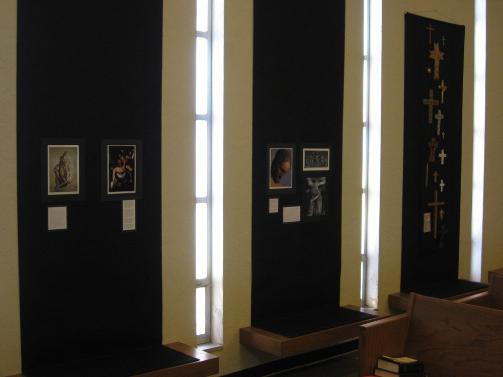 Meditation Gallery, (2 of 2), Nave wall