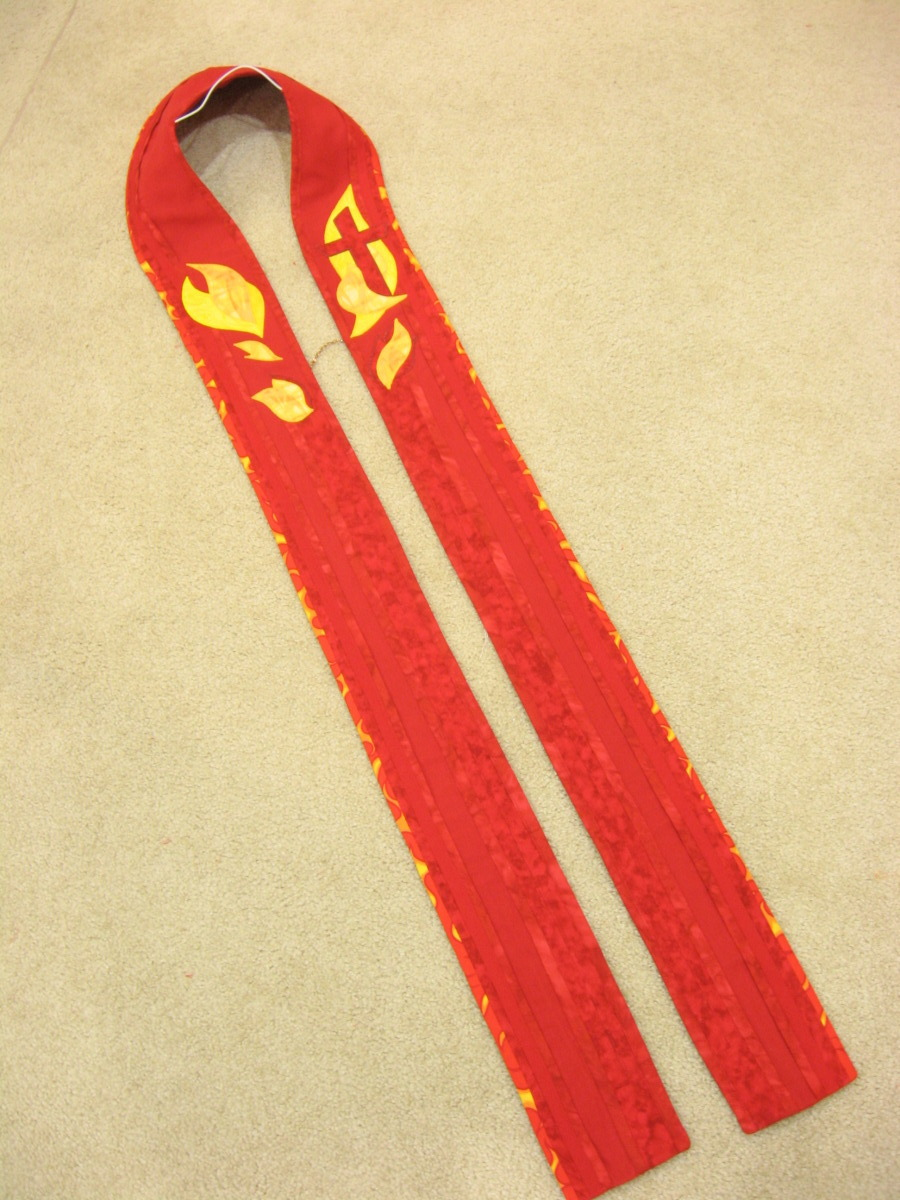 Pastoral Stole, Red