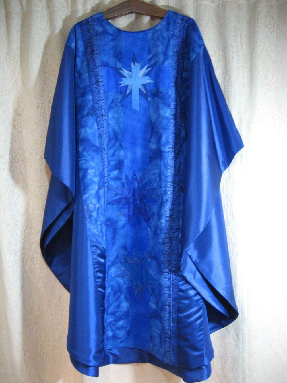 Blue Chasuble, front