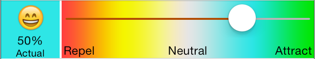 NewsBrain Level Adjust Slider