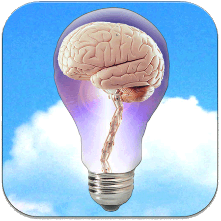 NewsBrain Icon Rounded