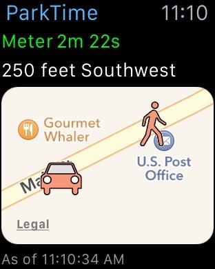 ParkTime Watch App