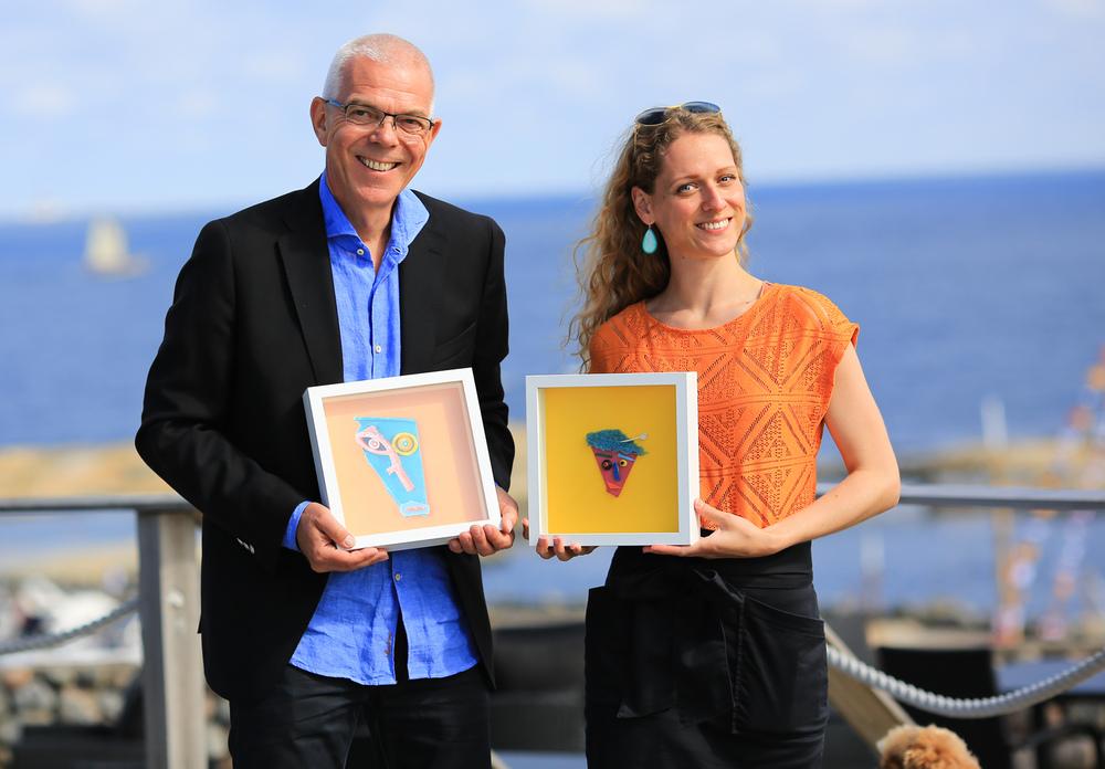 Kari Prestgaard og Astor Andersen. Foto: © Eirik Dahl/Visit Tjøme