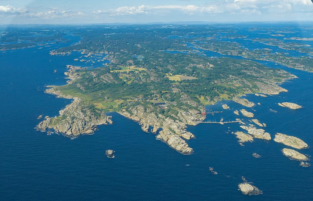 Verdens Ende sett fra syd. Foto: Arne Kjeldstadli