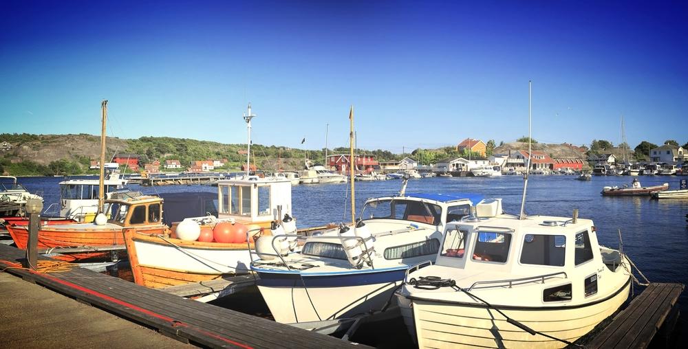 Den populære gjestehavnen i Sandøsund