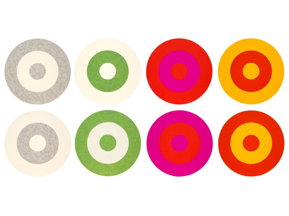 Bullseye Placemats