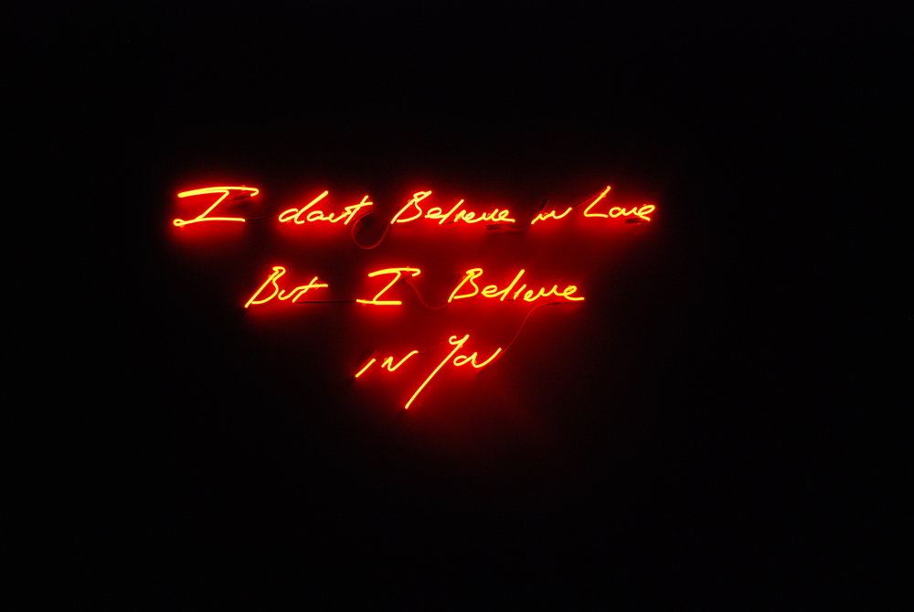 Tracey Emin_I dont believe in love....jpg