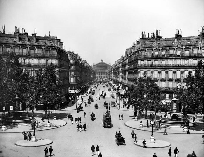 Paris moderna