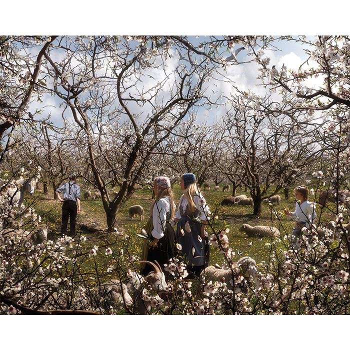 Marcelo Tinoco Da série 1900: belle epoque rural, 2014 Jato de tinta sobre papel algodão Edição 6 150 x 188 cm