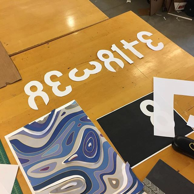 Do what you can with what you have where you are. Rewrite workshop at MECAGD. @designinquiry @peter.hall @mecagd @intertopia @uconngraphicdesign