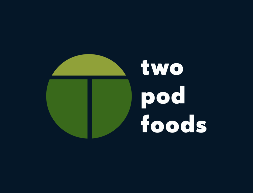TWO POD FOODS - Branding, Logo, Web, Research