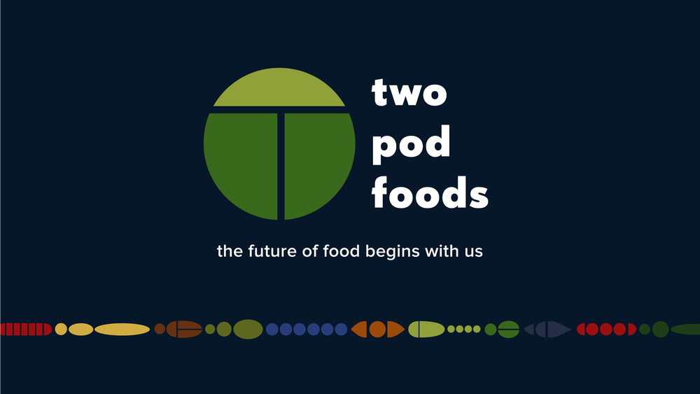 Two Pod Foods style guide cover
