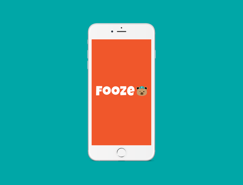 FOOZE - UI/UX, Mobile, Research, App