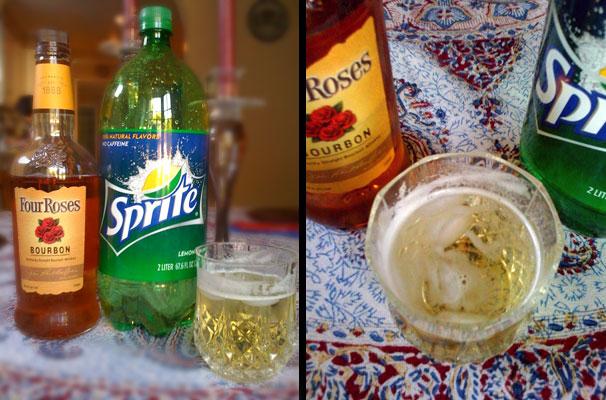 Bourbon and Sprite