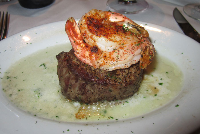 Filet Mignon and Jumbo Shrimp