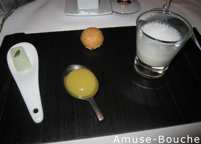 A 9 course meal at providence delish megish - Amuse gueule original ...