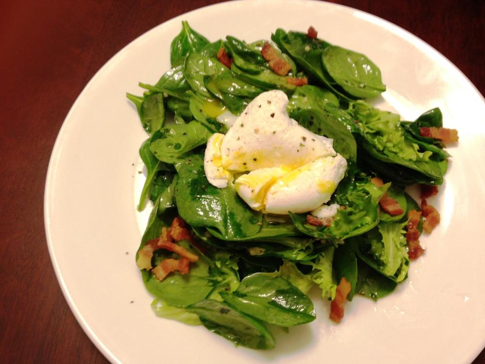 Spinach-Endive Salad