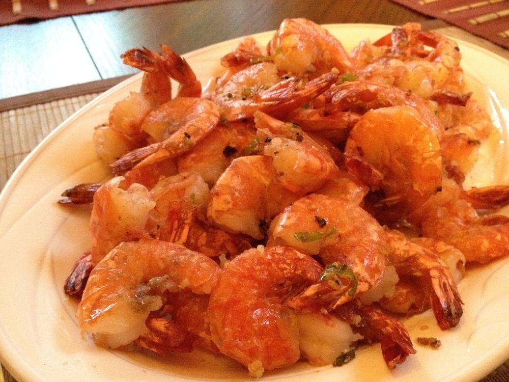 Crunchy and Salty: Chinese-Style Deep Fried Shrimp — Delish Megish