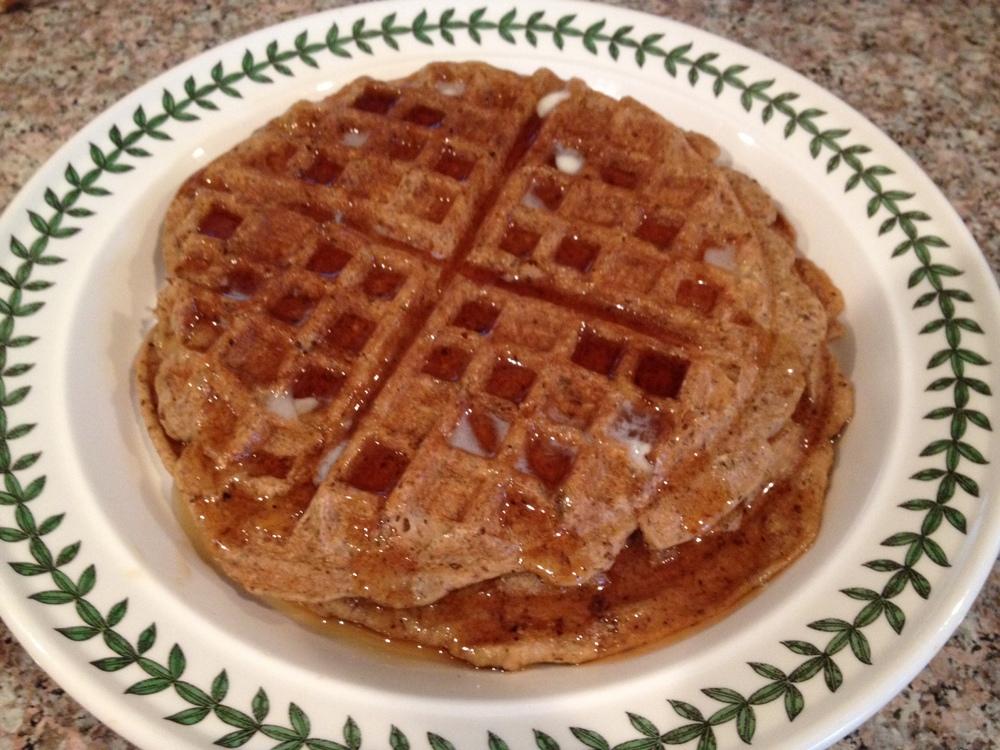 Surprisingly Vegan waffles
