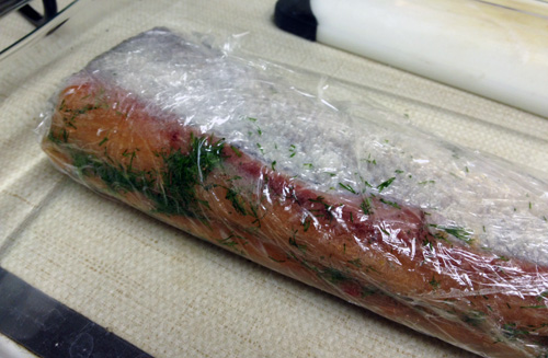 Wrapped lox