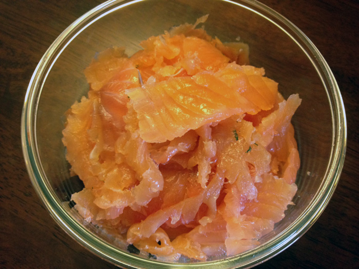 Lox in a bowl