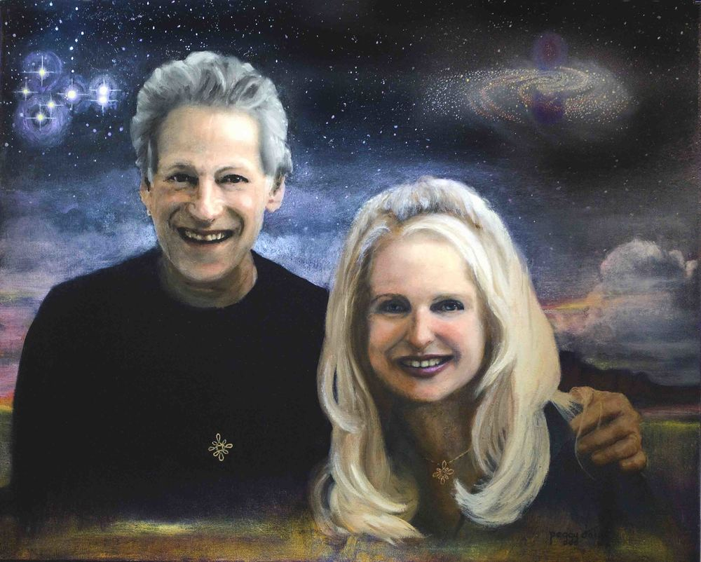 COMISSION BY PEGGY AND STEVEN DUBRO: OIL ON CANVAS