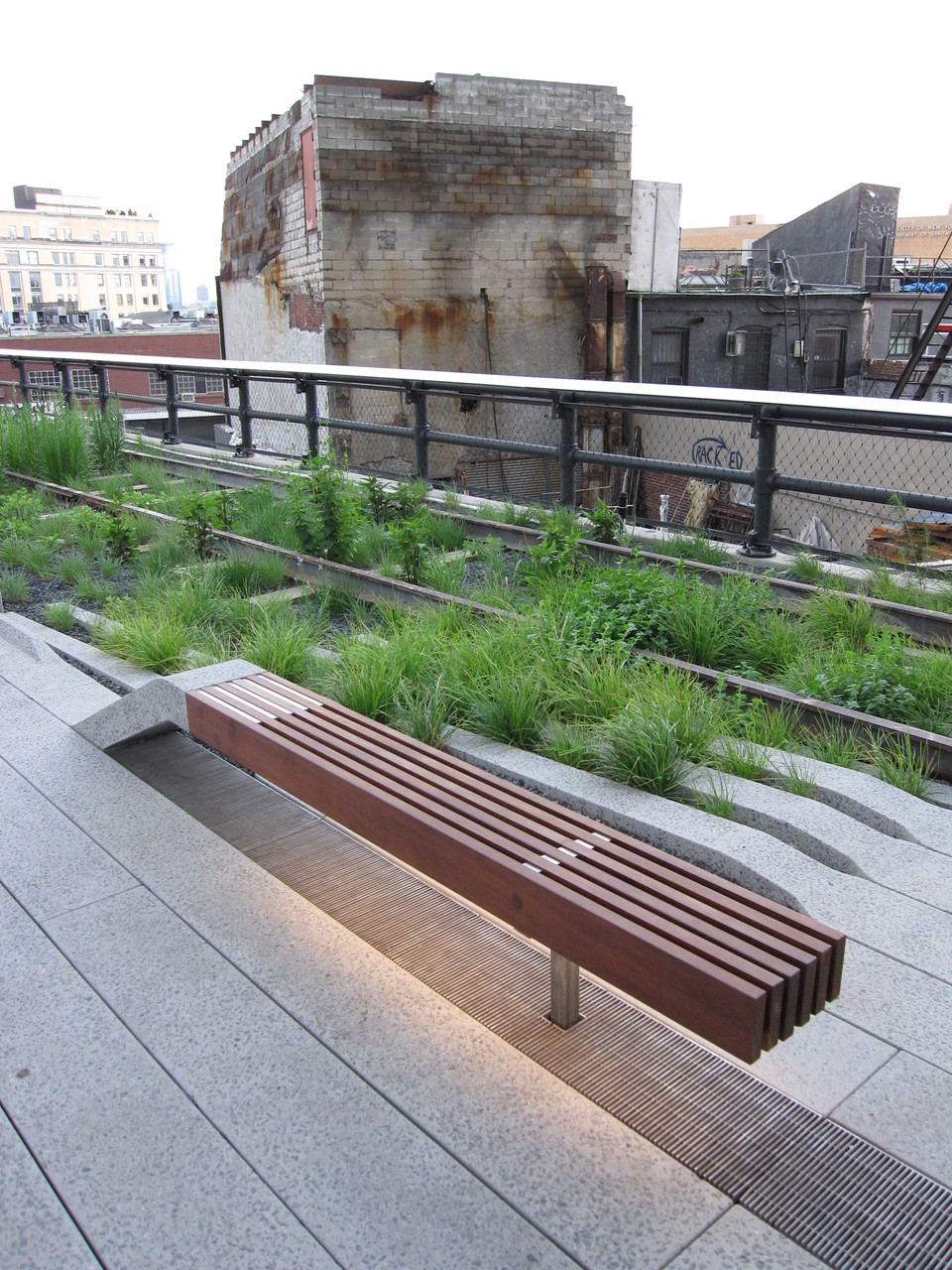 the Highline at 14st west side of manhattan..the coolest new place of the city.
