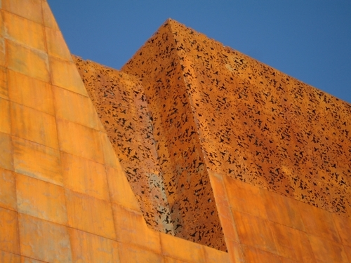 Obligatory new place to stop: Caixaforum in Madrid (Herzog-and-De-Meuron)