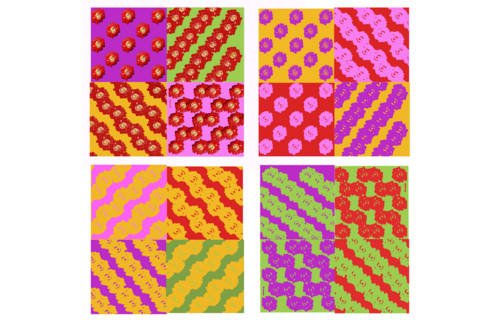 Patterns for wrapping paper by Natarqa.